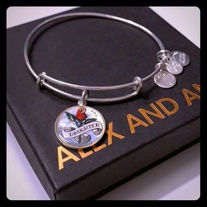 Alex and Ani Daughter bangle bracelet